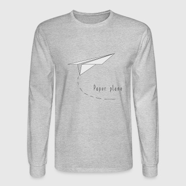 paper plane - Men's Long Sleeve T-Shirt