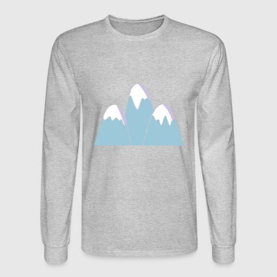 Mountains - Men's Long Sleeve T-Shirt