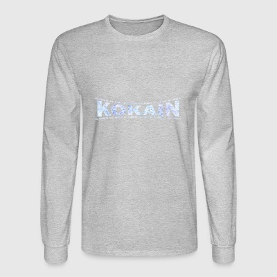 LOVE TECHNO GESCHENK goa pbm KOKAIN GOA - Men's Long Sleeve T-Shirt