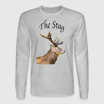 Stag - Men's Long Sleeve T-Shirt