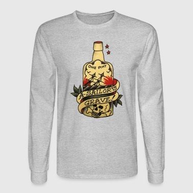 One Pint Sailors Grave - Men's Long Sleeve T-Shirt