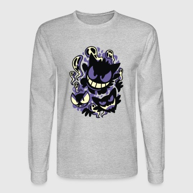 Ghastly Haunting Ghouls - Men's Long Sleeve T-Shirt