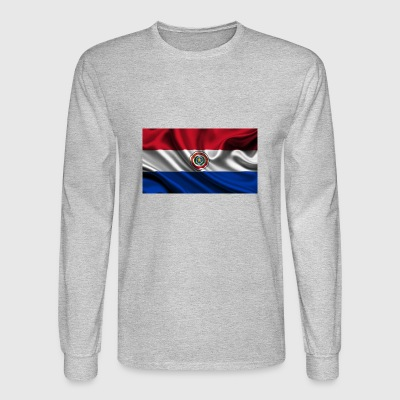 bandera paraguay - Men's Long Sleeve T-Shirt