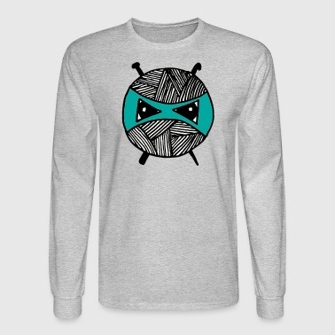 Teal Ninja - Men's Long Sleeve T-Shirt