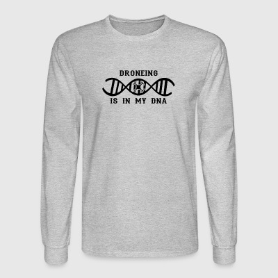 dns dna not only love calling drohne drone png - Men's Long Sleeve T-Shirt