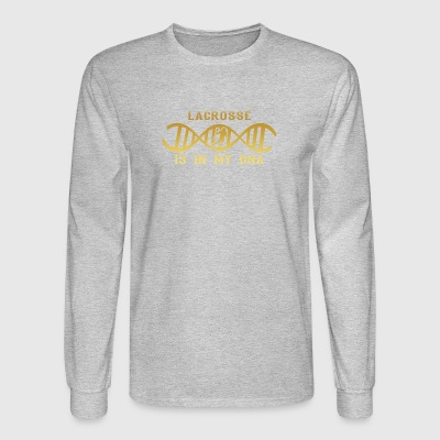 dns dna roots love calling lacrosse png - Men's Long Sleeve T-Shirt