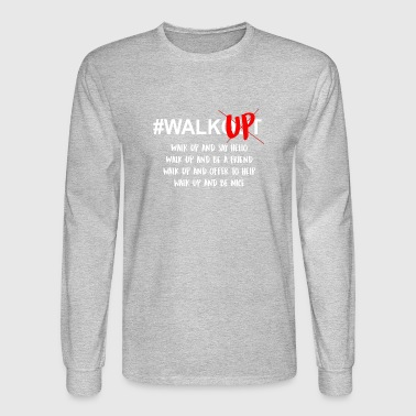 Walk up Not out - Men's Long Sleeve T-Shirt