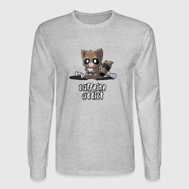 Caffeine Addict - Men's Long Sleeve T-Shirt