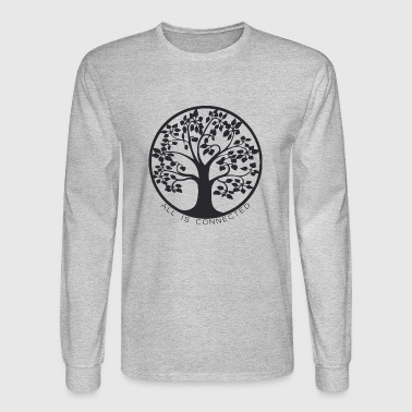 Tree of connections - Life Tree - Men's Long Sleeve T-Shirt