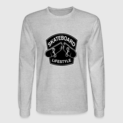 skateboard - Men's Long Sleeve T-Shirt