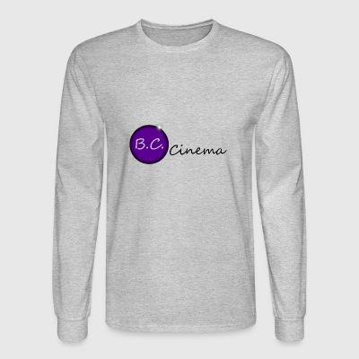 B.C. Cinema logo - Men's Long Sleeve T-Shirt