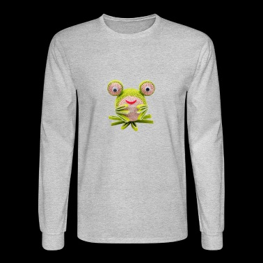 Crazy Paper Craft - Frog - Men's Long Sleeve T-Shirt