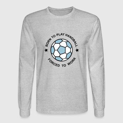 handball - Men's Long Sleeve T-Shirt