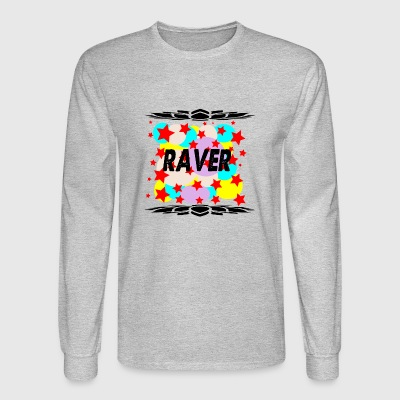 raver - Men's Long Sleeve T-Shirt
