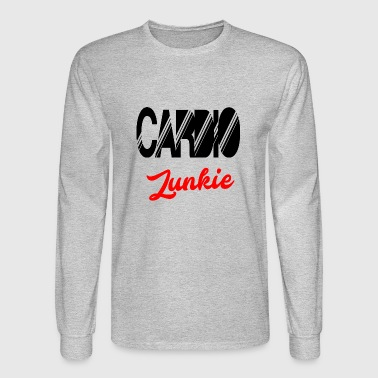 cardio junkie - Men's Long Sleeve T-Shirt