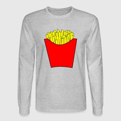 Fries - Men's Long Sleeve T-Shirt