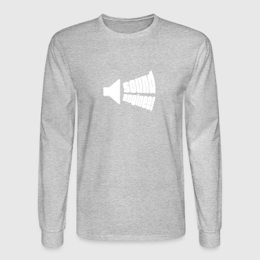 Speaker gift for Sound Engineers - Men's Long Sleeve T-Shirt