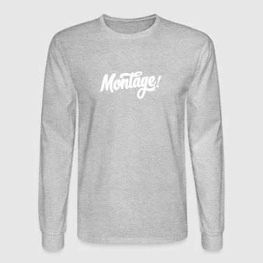 Montage - Men's Long Sleeve T-Shirt