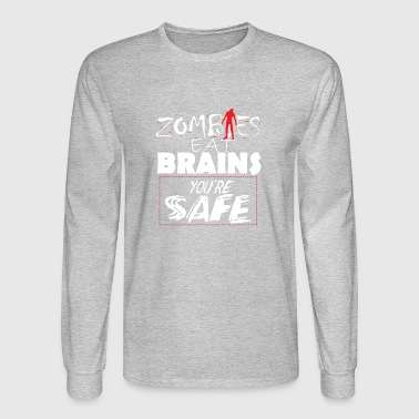 Funny zombie gift - Men's Long Sleeve T-Shirt