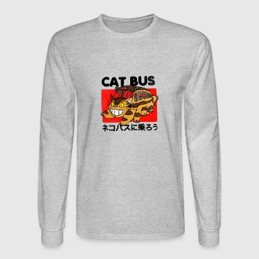 Cat Bus T shirt - Men's Long Sleeve T-Shirt