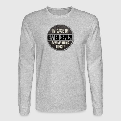 save my drums - Men's Long Sleeve T-Shirt