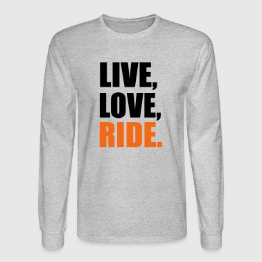 2541614 13914286 ride - Men's Long Sleeve T-Shirt