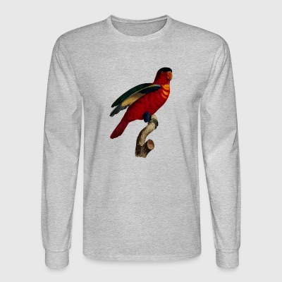 parrot papagei birds voegel animal tiere5 - Men's Long Sleeve T-Shirt