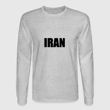IRAN - Men's Long Sleeve T-Shirt