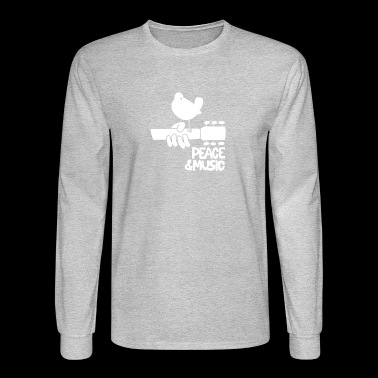 Woodstock Music - Men's Long Sleeve T-Shirt