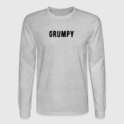 Grumpy - Men's Long Sleeve T-Shirt