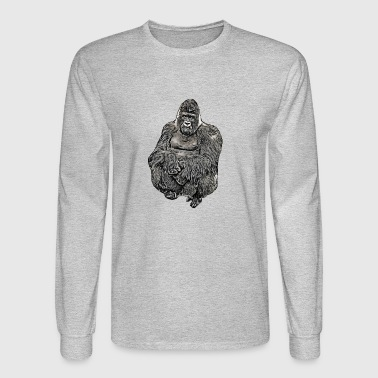 Comic Gorilla - Men's Long Sleeve T-Shirt