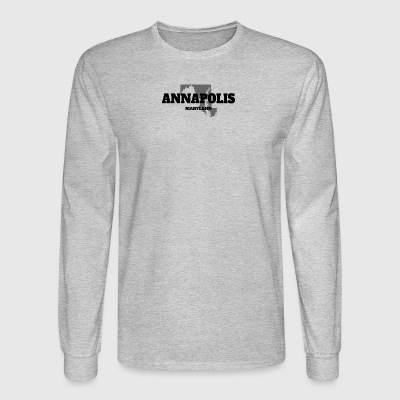 MARYLAND ANNAPOLIS US STATE EDITION - Men's Long Sleeve T-Shirt