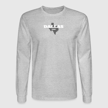 TEXAS DALLAS US STATE EDITION - Men's Long Sleeve T-Shirt
