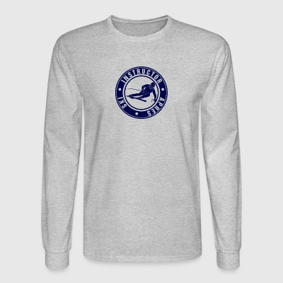 Ski Instructor - Men's Long Sleeve T-Shirt