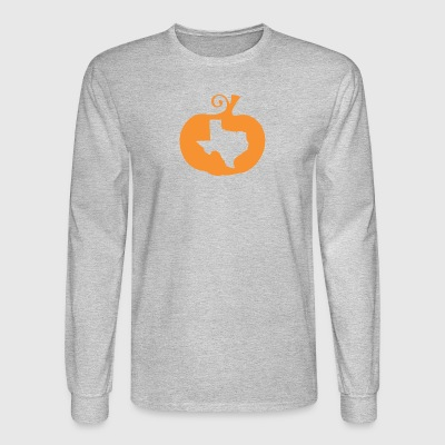 State Halloween Texas - Men's Long Sleeve T-Shirt