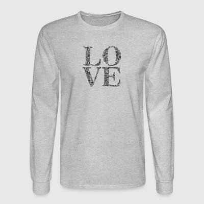 love humans people person - Men's Long Sleeve T-Shirt