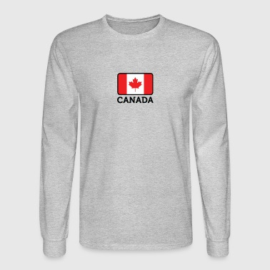 National Flag Of Canada - Men's Long Sleeve T-Shirt