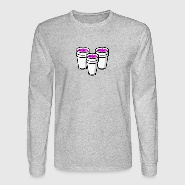 DoubleCup non pixelated - Men's Long Sleeve T-Shirt