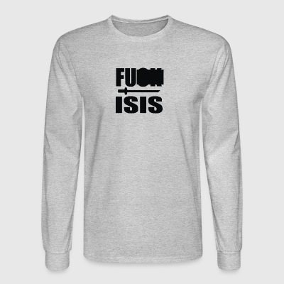 F Isis - Men's Long Sleeve T-Shirt