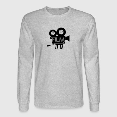 camera film - Men's Long Sleeve T-Shirt