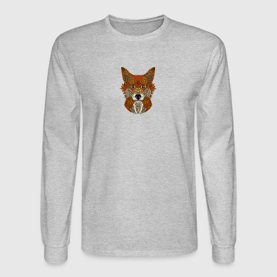 Mr Fox, colorful Fox - Men's Long Sleeve T-Shirt