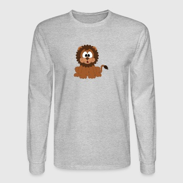 Lion Comic Style - Men's Long Sleeve T-Shirt