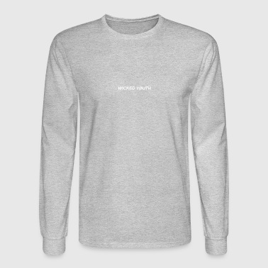 Wicked Youth White - Men's Long Sleeve T-Shirt