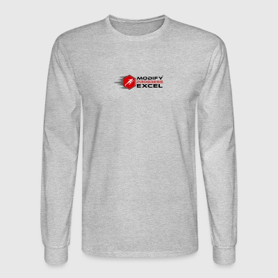 MODIFY PROGRESS EXCEL - Men's Long Sleeve T-Shirt