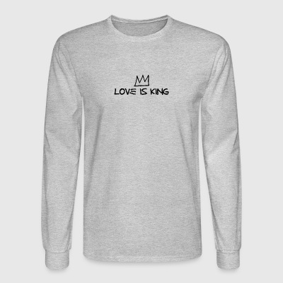 Crown - Love Is King - Men's Long Sleeve T-Shirt