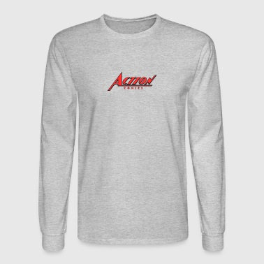 action comics - Men's Long Sleeve T-Shirt