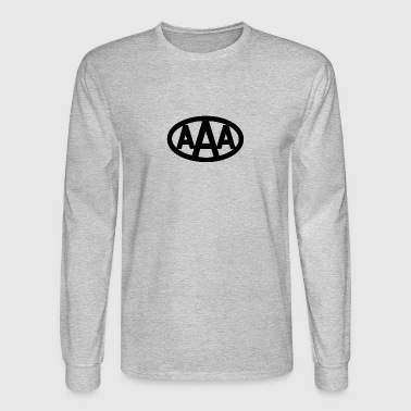 AAA wdd logo - Men's Long Sleeve T-Shirt