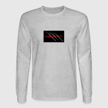 Keith channel background redtext - Men's Long Sleeve T-Shirt