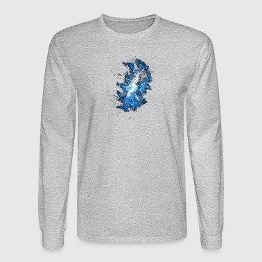 Cracked Universe - Men's Long Sleeve T-Shirt