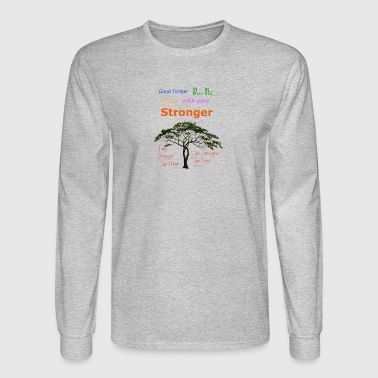 Stronger the Tree - Men's Long Sleeve T-Shirt